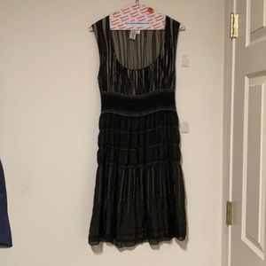 MAX Studio Black Dress Size L